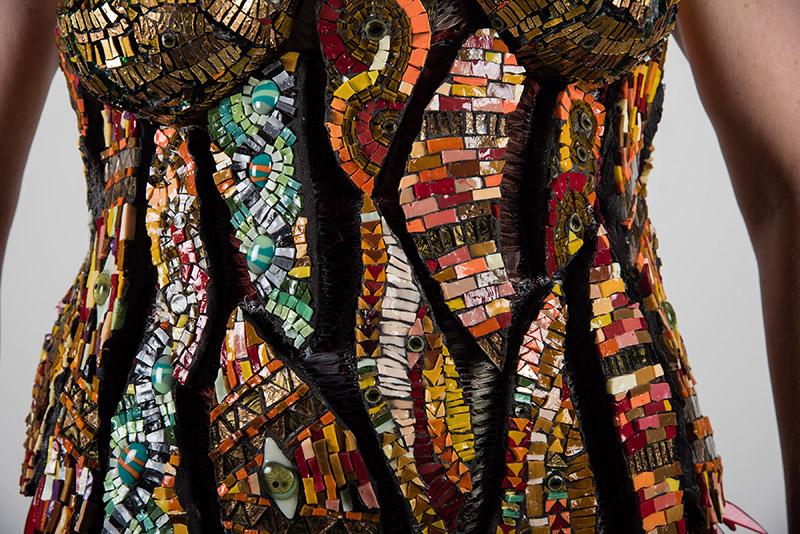 Glass Mosaic Corset