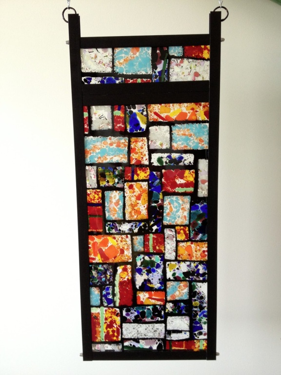 Fused Glass Window