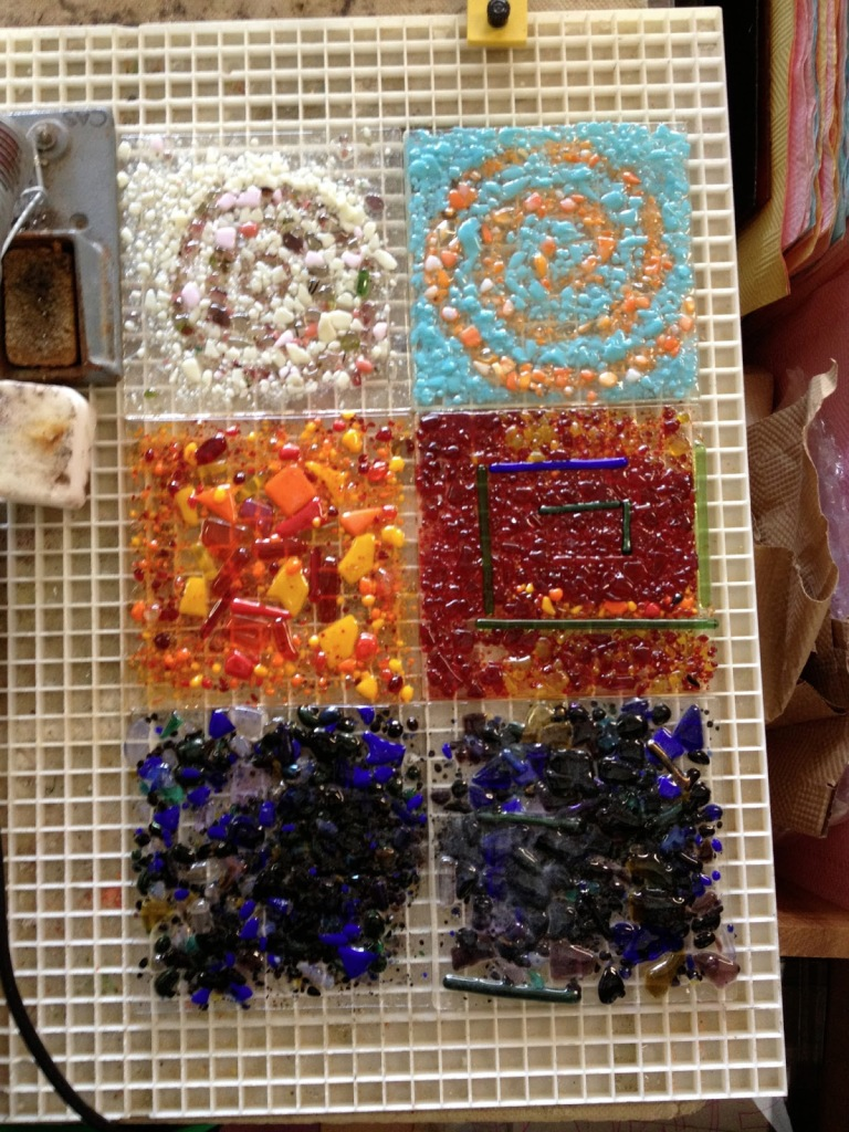 Fused Glass Part Sheets